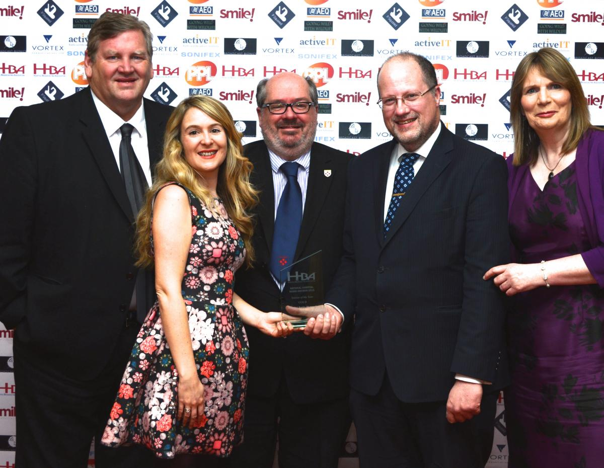 National Hospital Radio Awards 2015 - Station of the Year - Hospital Radio Plymouth