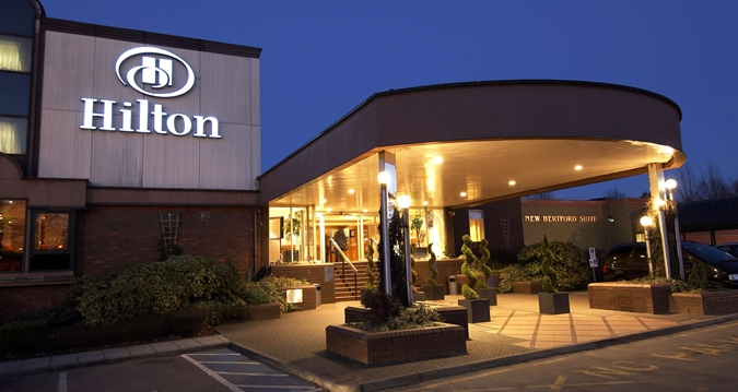 The Hilton Hotel, London Watford