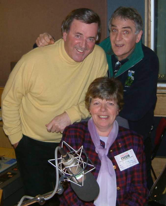 Sir Terry Wogan with June Snowden and Paul Walters